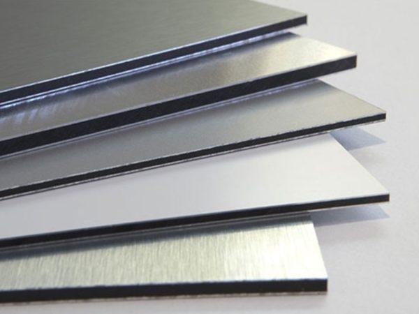 pannelli compositi in alluminio