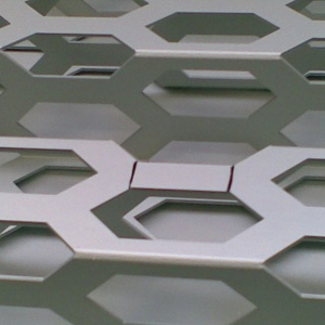 Cantori - Trapezoidal perforated metal sheet