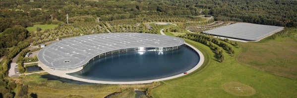 Qbiss One - McLaren Technology Centre, UK
